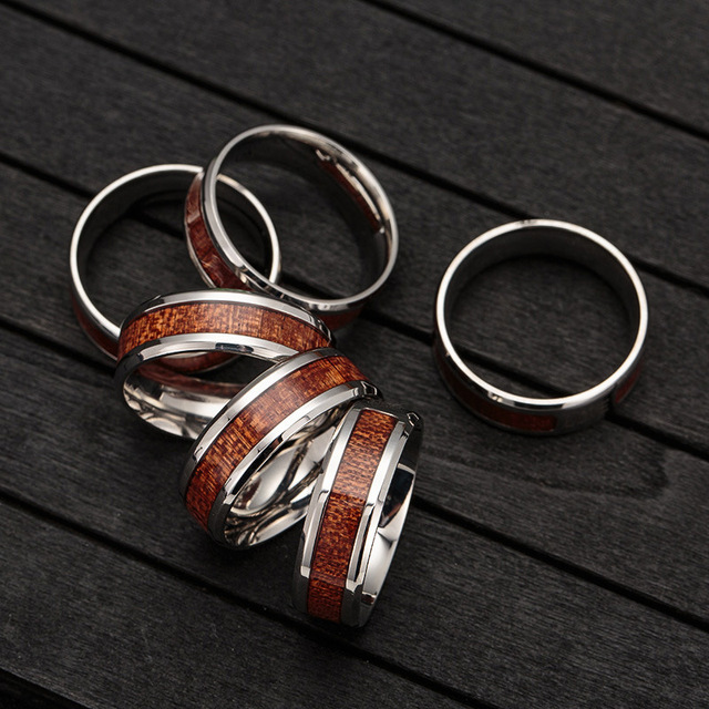 Wooden Ring for Men and Women