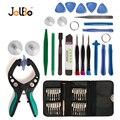JelBo Handy Reparatur Werkzeug Schraubendreher LCD Bildschirm Opener Zange Saugnapf DIY Elektronische Reparatur Hand Zerlegen Werkzeuge-in Handwerkzeug-Sets aus Werkzeug bei