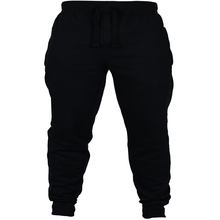Men Jogger Pants Solid Color Chinos Skinny Joggers Cross New Fashion Cotton Harem Pant Male Sweatpants Trousers