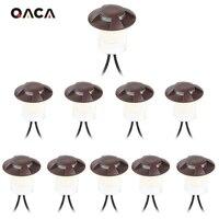 Qaca ac/dc الأرض دفن الخارجي للماء مصباح أضواء المشهد مسار التزيين في الطابق 10 أجزاء مع 30 واط محول F109-10