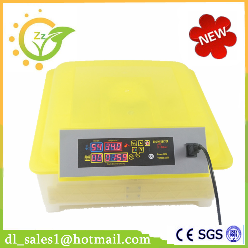 Hot Selling Mini Egg Incubator 48 Eggs Automatic Poultry Chicken Hatchery Machine small chicken poultry hatchery machines 48 automatic egg incubator 220v hatching for sale