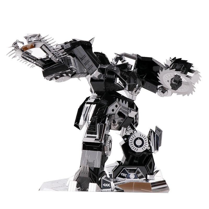 MU 3 डी धातु पहेली हताश रिपर YM-N016-DS मॉडल DIY 3 डी लेजर कट असेंशन के लिए आरा खिलौने डेस्कटॉप सजावट सजावट इकट्ठा