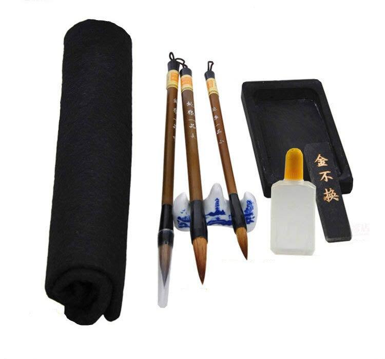 Conjuntos de Arte escova do chinês caligrafia caneta Tipo of Writing Brush : Traditional Writing Brush