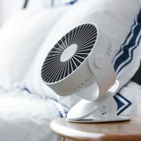 Mini Air Conditioner Portable USB Charging Desk Table Fan For Office Home Computer PC Fan 360 Rotation Air Cooler Small Fan