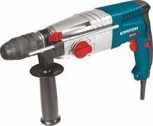 Перфоратор КРАТОН RHЕ-650-24 FR 650Вт 0-1000об/мин 2.2Дж SDS+ 24мм 3реж. мет.редуктор +БЗП, набор