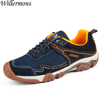 Summer Men S Fashion Breathable Mesh Hiking Boots Shoes Mens Outdoor Low Top Camping Trekking Shoes