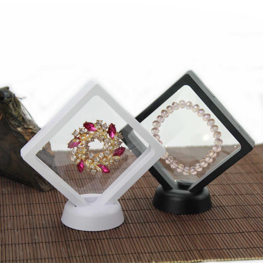 10 Pcs 3D Herdenkingsmunt Badge Opslag Boxs Frame Shadow Broche Schorsing Doos Sieraden Display Lege Munt Frame Horloge Doos