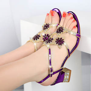 d24203888 ailailuo Genuine Leather Summer Sandals Thick Heel Women