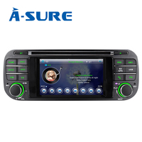 A Sure 16GB ROM 4.3 Inch Android Radio GPS Car DVD Stereo Navigation For Jeep Grand Cherokee Jeep Wrangler 2003 2006 Mirrorlink