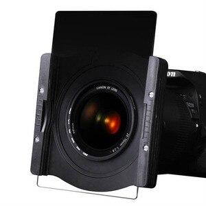 Image 2 - Металлический квадратный держатель фильтра Zomei 100 мм с 3 слотами + кольцо адаптер 67 мм/72 мм/77 мм/82 мм для Cokin Z PRO Lee Hitech Singh Ray