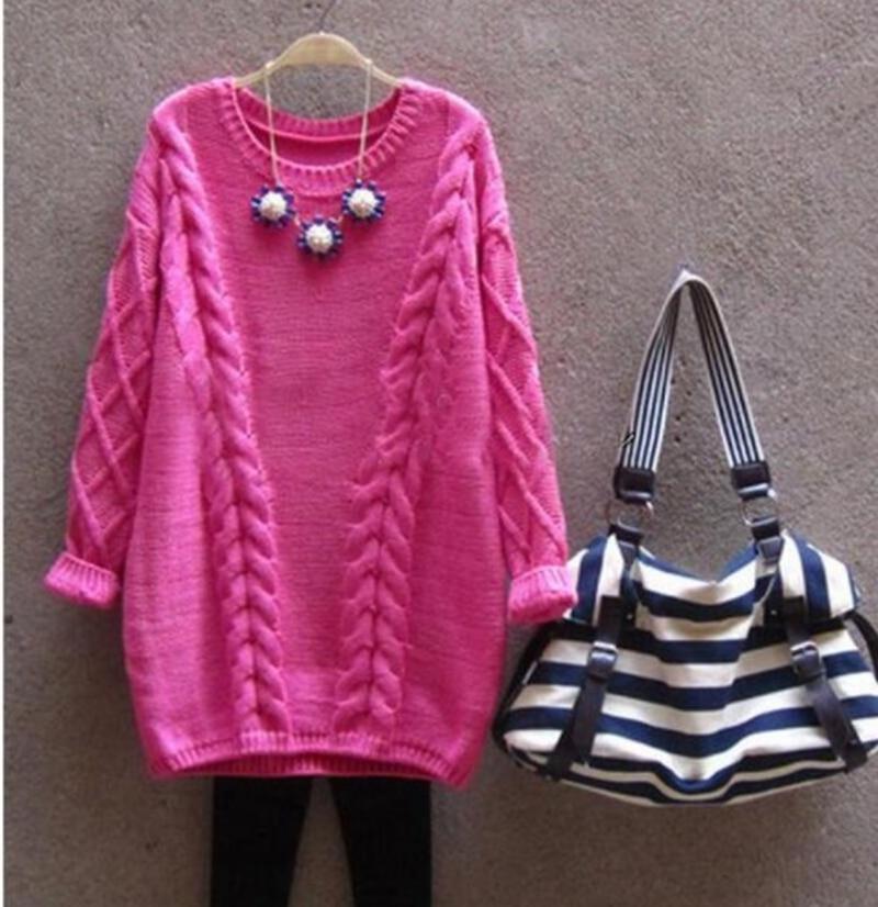 e3ccbc16b Maternidad suéter ropa para las mujeres embarazadas otoño jersey de lana  Otoño Invierno que hace punto caliente sudaderas Maternidad ropa