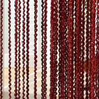 300 * 300cm Threaded Line Curtain Indoor Home Decoration Curtain Wedding Background Decorations Supplies