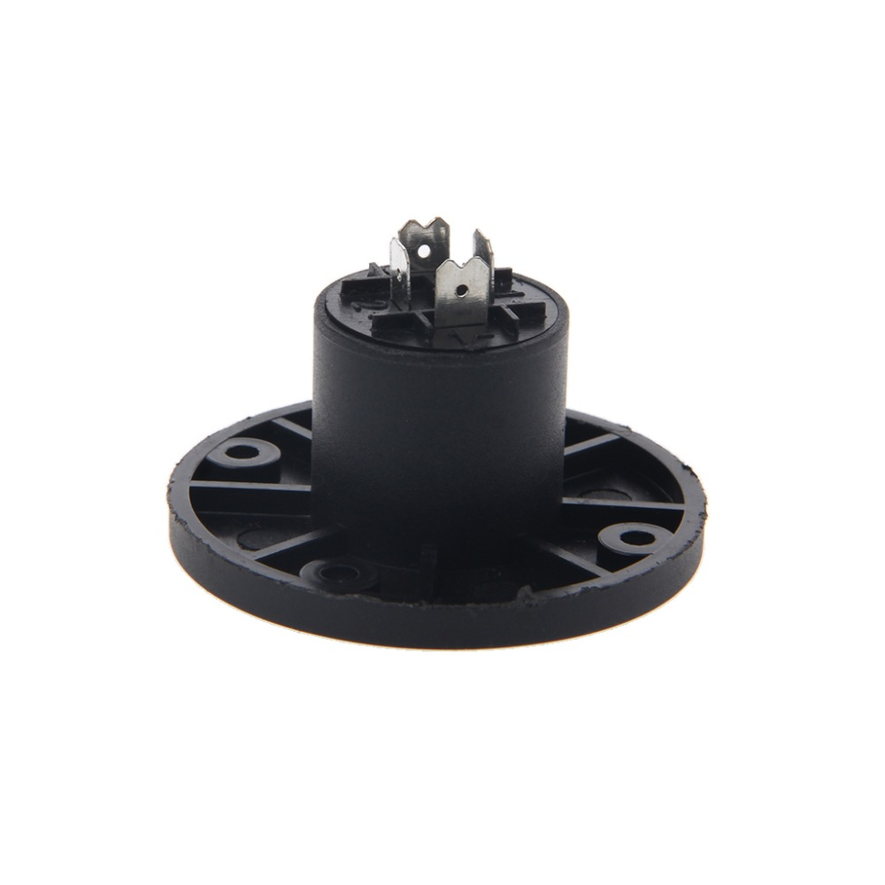A/B/C/D/E 4 Pin Female Jack Compatible Audio Cable Panel Socket Connector Black Color