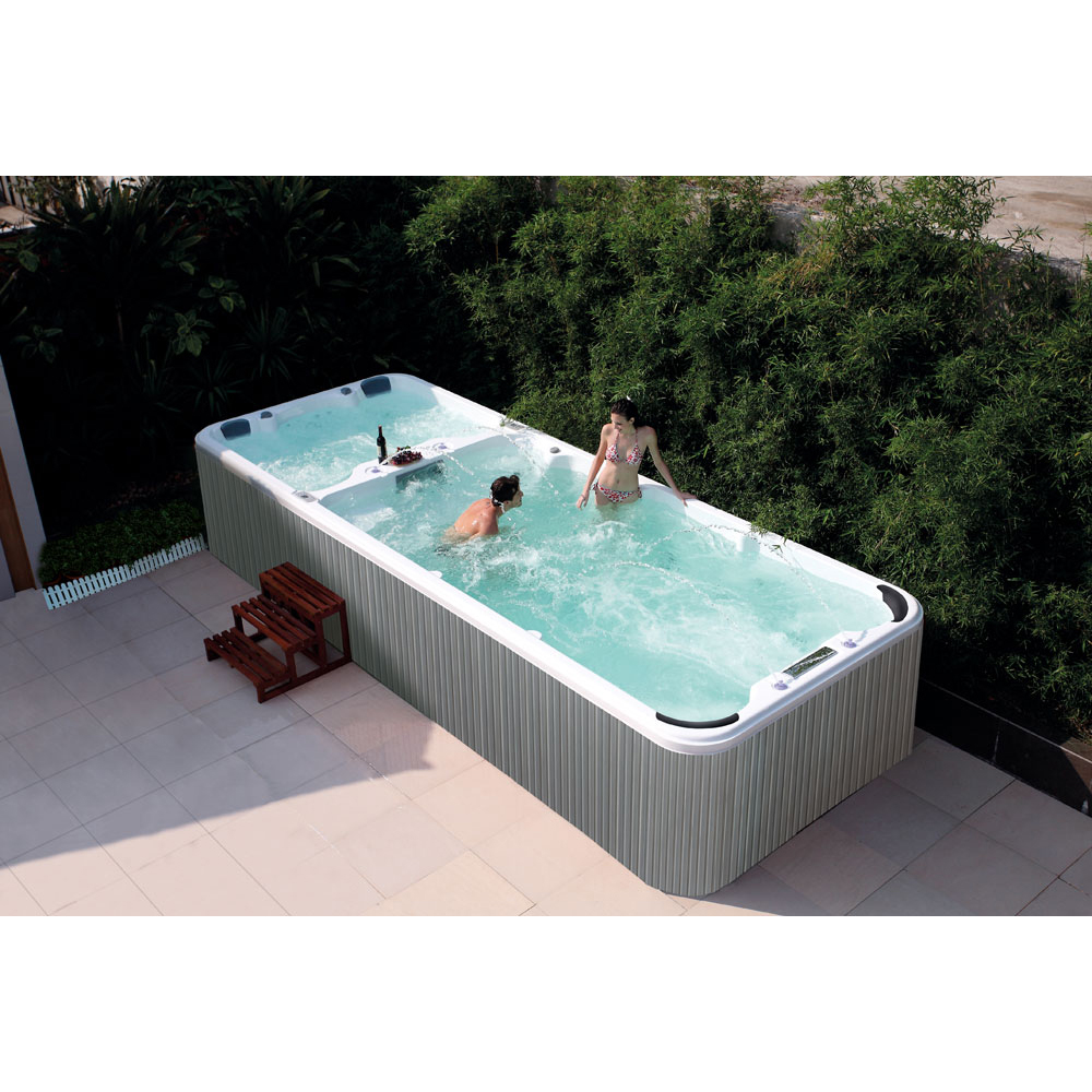 Jacuzzi Endless Pool Us 17818 Heating Massage One Piece Model Limitless Swimming Endless Pool Made In China Swimming And Massage 5 8 In Spa Tubs From Home Improvement