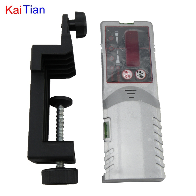 KaiTian Outdoor Receiver for Laser Level and 635nm Self Leveling 5 Lines Level with Precision Detect Rotary Laser Signal 50M thyssen parts leveling sensor yg 39g1k door zone switch leveling photoelectric sensors
