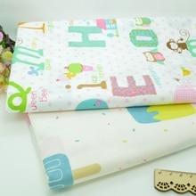 100*160 см Popsicles письмо лоскутное изделие из хлопчатобумажной ткани ручной работы DIY лоскутное шитье Детские простыни платье платок