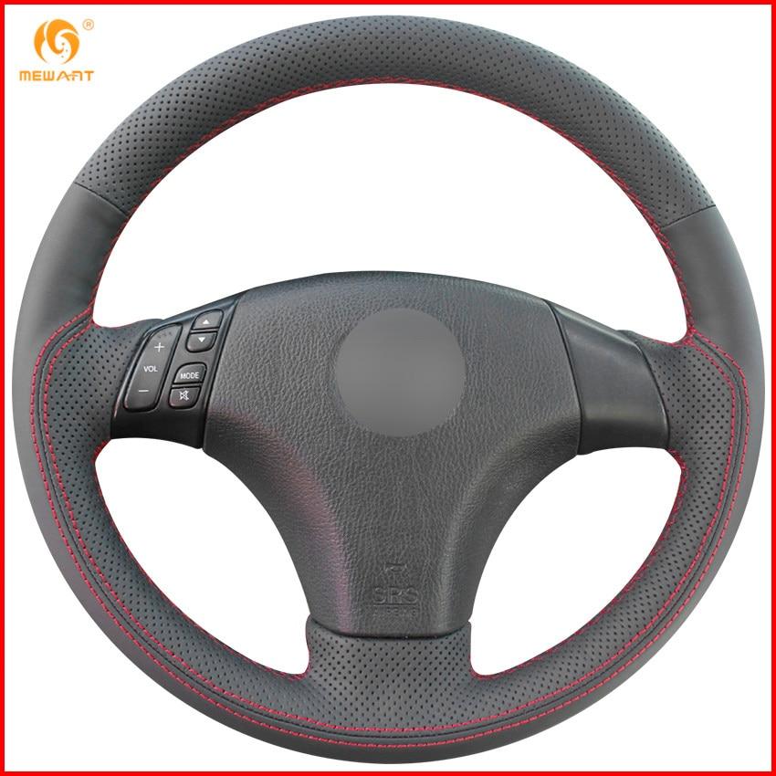 2003 2008 Mazda 6 Wheels For Sale: MEWANT Black Genuine Leather Car Steering Wheel Cover For 2004 2009 Mazda 3 / 2006 2010 Mazda 5
