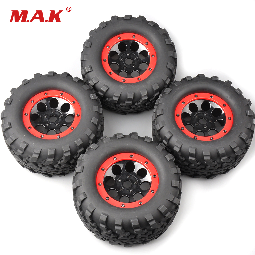 4Pcs Set 160mm 1 8 Bigfoot Monster Truck Tires Wheel 17mm Hex 4 Summit RC Car