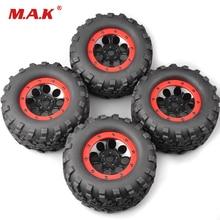 4Pcs/Set 160mm 1:8 Bigfoot Monster Truck Tires&Wheel 17mm Hex 4 Summit RC Car Accessories 88035 4pcs rc 1 10 monster bigfoot car truck wheel rim