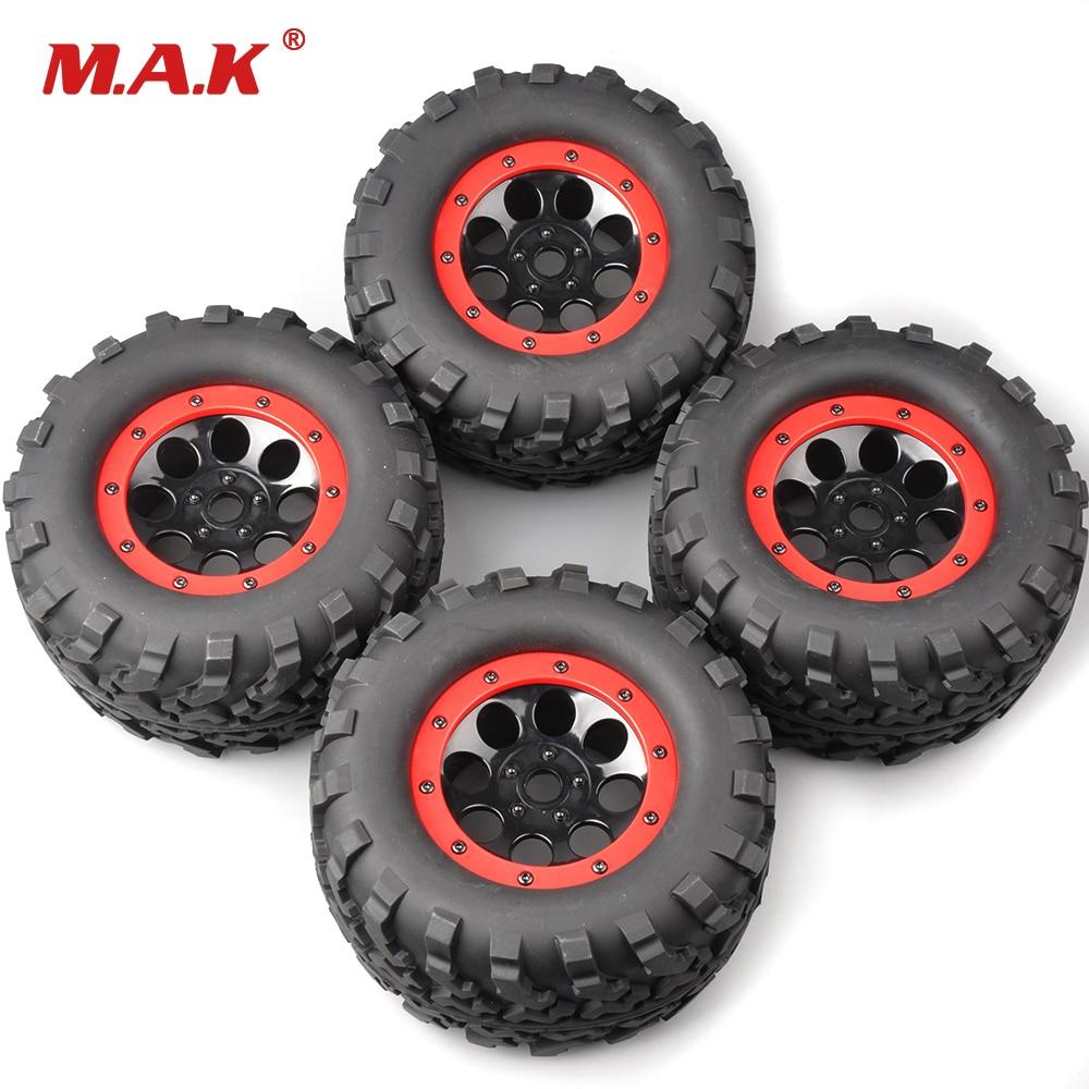 4Pcs / Set 160mm 1: 8 Bigfoot Monster Truck Neumáticos y Rueda 17mm - Juguetes con control remoto