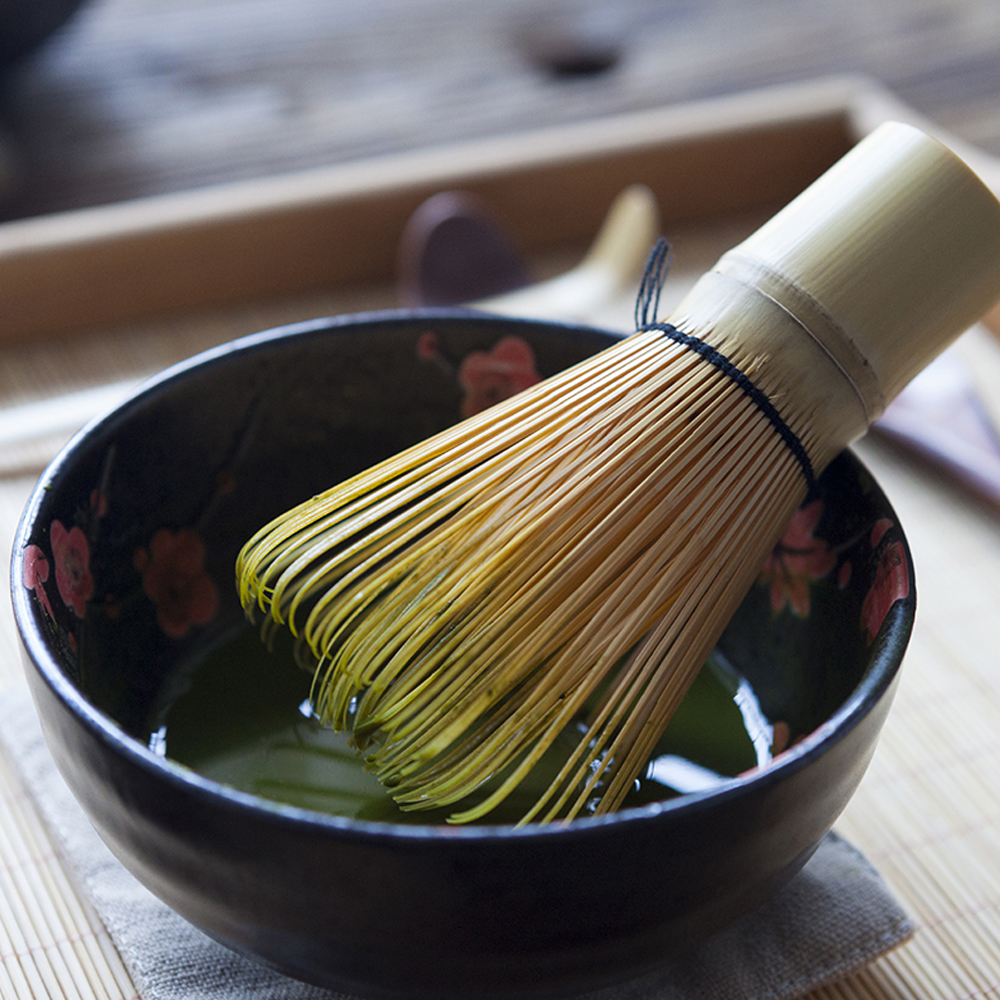 Beautiful Elegant Traditional Matcha Giftset Natural Bamboo Matcha Whisk Scoop Ceremic Matcha Bowl Japanese Matcha Tea Sets