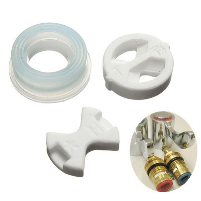 House Basic Tools Ceramic Disc Tap Washer Insert Turn 1/2 ...
