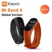 Xiaomi Mi Band 4 Globale Version Smart Uhr Sport Herz Rate Fitness Tracker Miband 4 Bluetooth Frauen Mann Smart Band armband-in Intelligente Armbänder aus Verbraucherelektronik bei