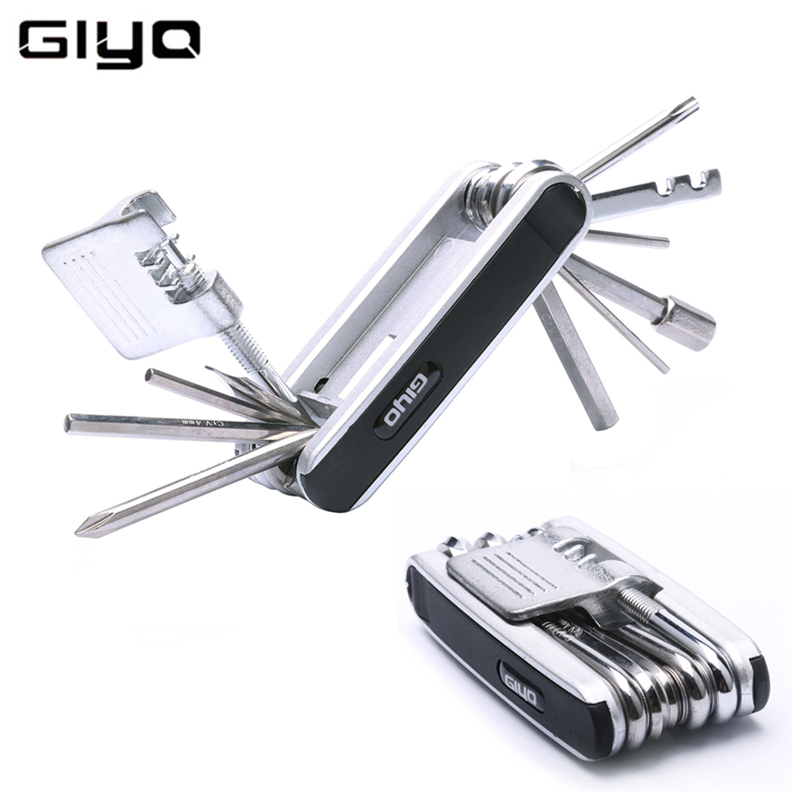 GIyO Bike Tools Bicycle Tool Set Bike Bicycle Multi Repair Tool Kit Hex Spoke Wrench Mountain Cycle Screwdriver Tool