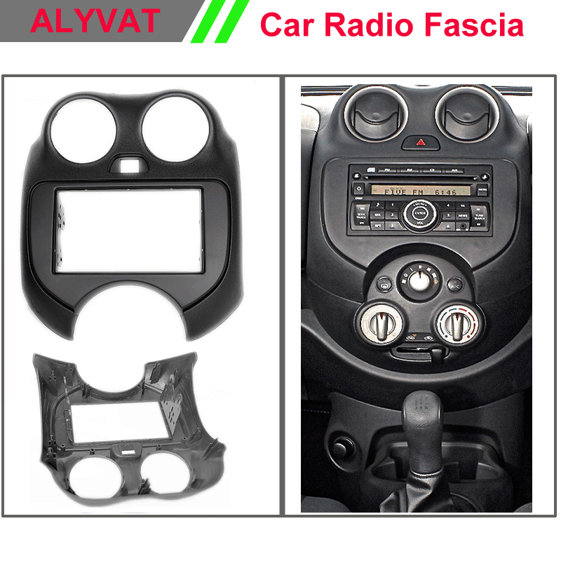 Car Radio DVD CD Fascia for NISSAN Micra, March (K13) /RENAULT Pulse Car radio stereo face facia surround trim frame цена