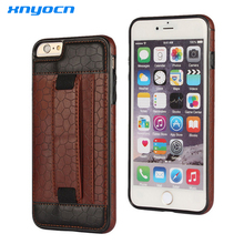 Xnyocn Brand Luxury Leather Wallet Case for Iphone 6 6s Plus Cover for Samsung Galaxy S5 S6 S7 Edge Plus Note5 Stand Card Holder