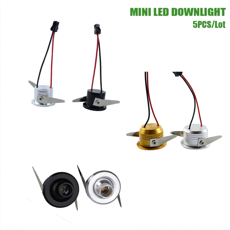 1W/3W Mini Spot Led Light AC110V 220V cabinet spot