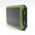 10000 mAh batería externa Banco de la Energía Solar A Prueba de agua Universal powerbank Cargador de batería de polímero de litio para el teléfono móvil