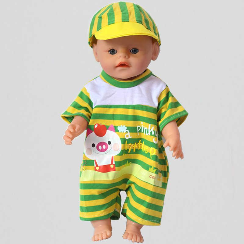 Новое платье одежда для 43 см куклы Reborn Младенцы Одежда
