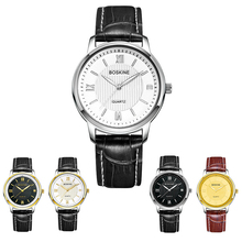 New Quartz watch men Women Lovers' Wristwatches Male watches strap leather Water Resistant 30 m 8810