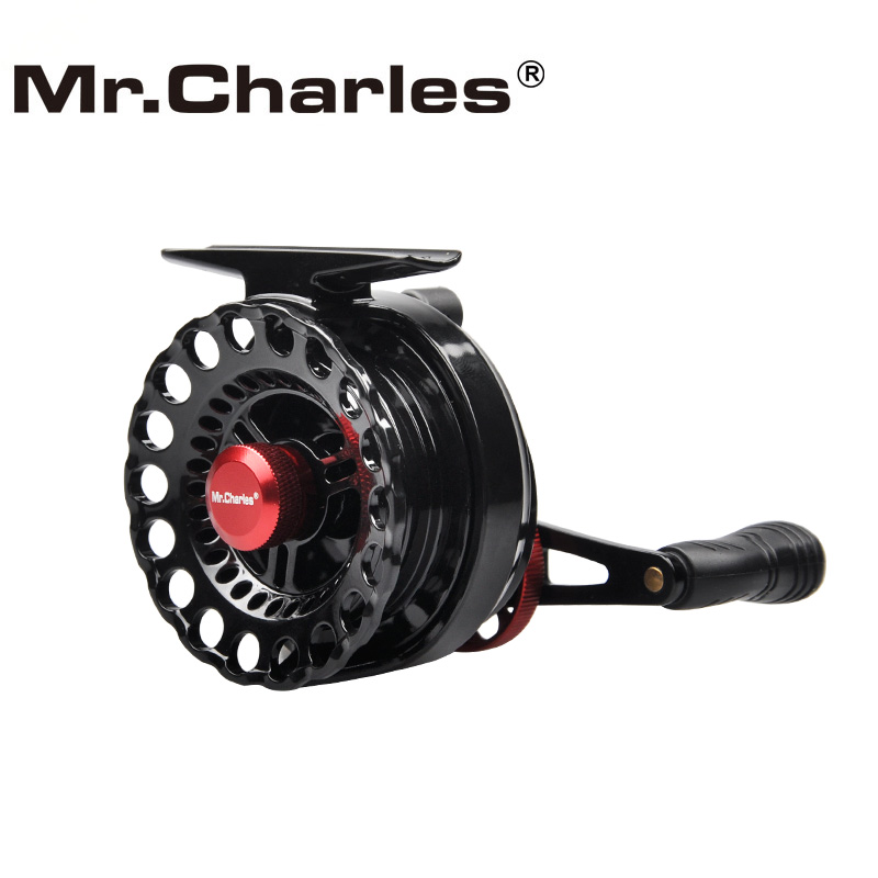 MrCharles Nya NND-L65 Gearkvot 3,6: 1 Plastflotta Reels Fiske Vänster / Höger Hand Fly Fishing Reel Raft Ice Fishing Reel