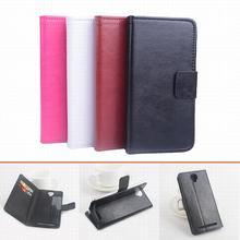 Высокое качество Роскошный кожаный чехол для UMI Emax флип чехол с карты памяти для umiemax кожаный чехол телефон случаях