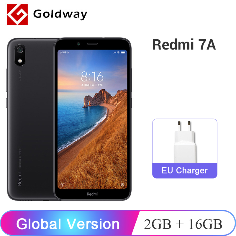 "In Stock ! Global Version Xiaomi Redmi 7A 7 A 2GB 16GB Smartphone 5.45"" Snapdargon 439 Octa Core 4000mAh Battery 13MP Camera(Hong Kong,China)"
