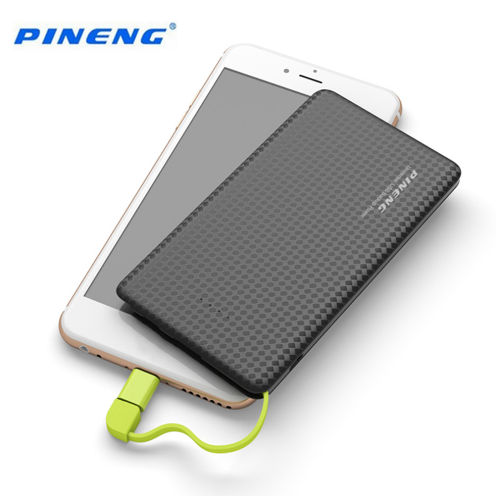 Banco do Poder para celulares com android Modelo Número : 5000mah Pineng Mobile Power Bank Fast Charging External Bateria Charge