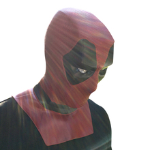 Deadpool Cosplay Movie Latex Mask Full Head Helmet Wade Winston Wilson Costume Party Masks Adult Funny Adornments