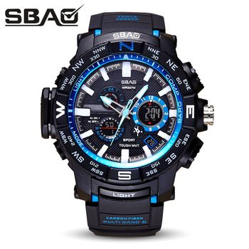 Sbao brand children watch led dial display digital military watch montre enfant multifunctional clock relogio infantil.jpg 350x350