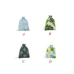 Image 5 - Polyester Cotton Storage Basket Travel Wash Pouch Shoe Cloth Storage basket Bags Portable Organizer Convenient Travel Storage