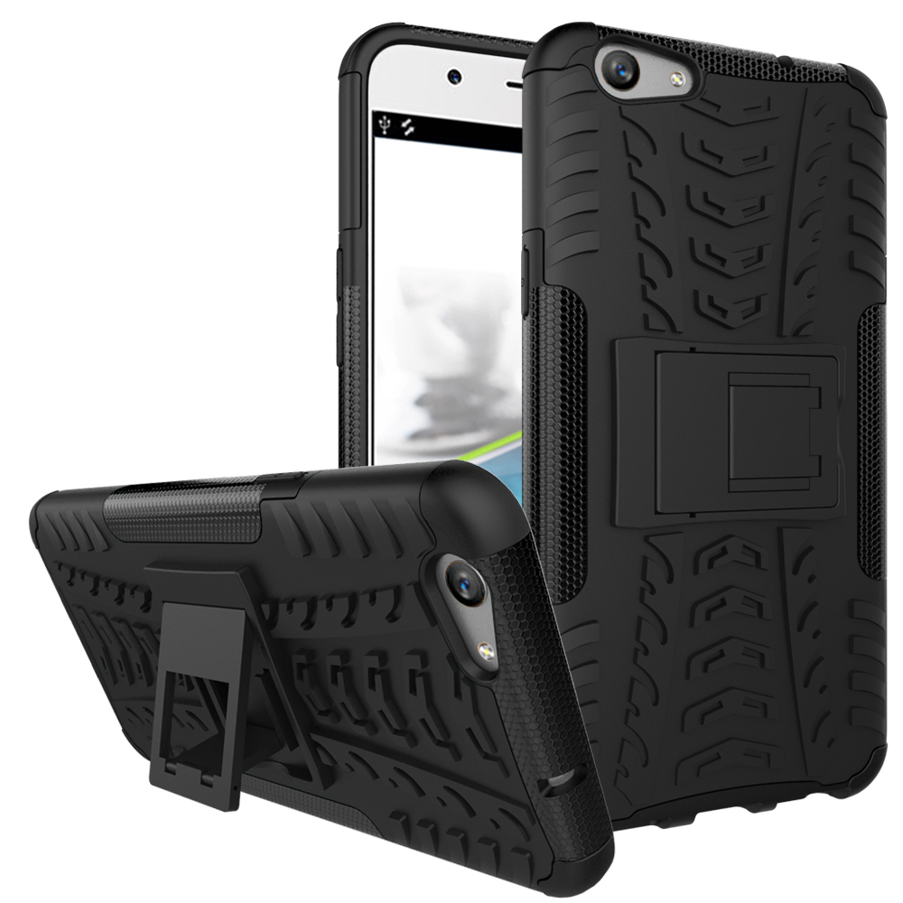 For OPPO F1S Case Tough Impact Phone Case Heavy Duty Armor Hybrid Anti-knock Silicone Ha ...
