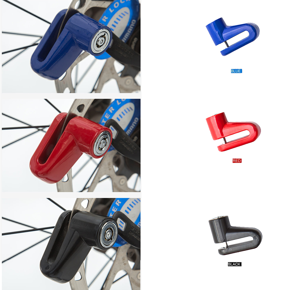 LARAT Anti theft Disk Disc Brake Rotor Lock For Scooter Bike Motorcycle Safety Lock For Scooter Motorcycle Bicycle Safety