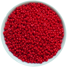 Red Color Glass Beads 2mm 1000pcs/lot Solid Color Czech Seed Spacer Beads For Fashion Jewelry Making