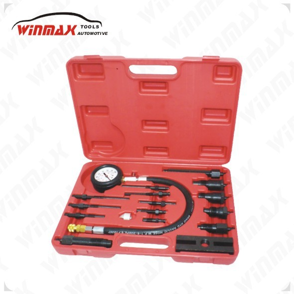 WINMAX 17 PC CYLINDER COMPRESSION TESTER KIT AUTOMOTIVE TOOLS  WT04102