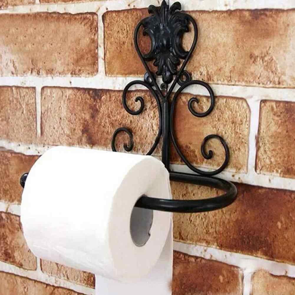 Wrought Iron Bathroom Paper Storage