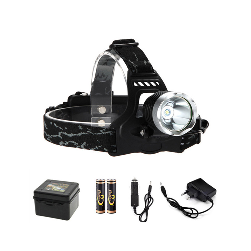 Led Headlamp XM-L T6 Headband Lamp 2000 Lumen Flashlight  3 Mode Camping Lamp  Portable Lighting Apply18650 Battery