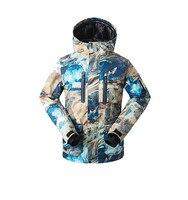 Gsou снег Для мужчин лыжная куртка сноуборд куртка ветрозащитная Водонепроницаемый уличная спортивная одежда Лыжный Спорт для верховой езды