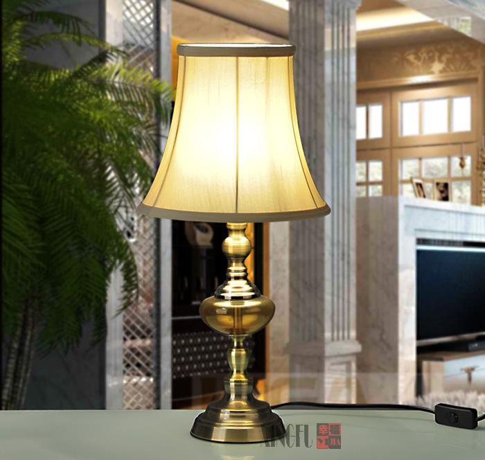 Европейский пастырской керамические декоративные лампы. Спальня ночники. Свадебный подарок lamp013
