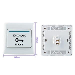 Image 5 - Kit de sistema de Control de acceso 125KHz IP68 tablero de Metal con teclado RFID resistente al agua + cerradura eléctrica + interruptor para puerta de salida fuente de alimentación para exteriores